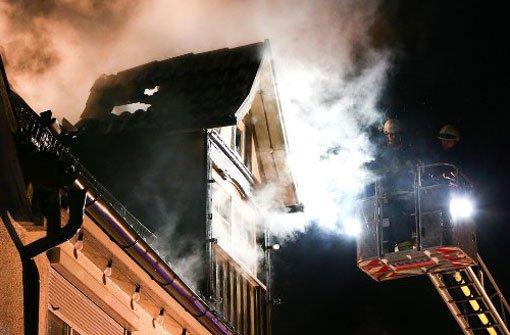 Flammen zerstören Wohnhaus im Remstal