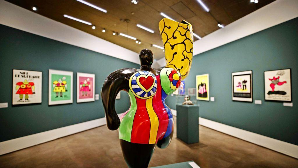 Niki De Saint Phalle Und Jean Tinguely In Waiblingen Bonnie Clydes Furiose Plakate Rems Murr Kreis Stuttgarter Zeitung