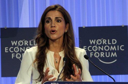 Rania von Jordanien kritisiert Araber