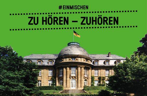Am 20.7. gibt's Theater im Park der Villa Reitzenstein: zu hören - zuhören