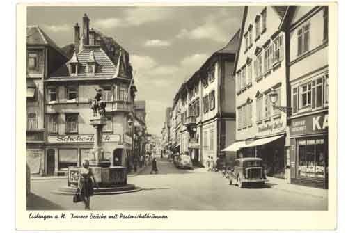 Esslingen in den 50er Jahren im Stadtmuseum im Gelben Haus