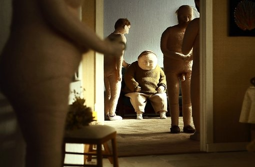 """er belgische Animationsfilm   Der Film """"Oh Willy"""" mischt    kleinbürgerliche Tragik und schwarzen Humor. Foto: Wand 5"""