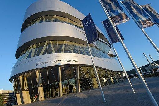 Bei der 20. Social Media Night im Mercedes-Benz-Museum ging es um Landesmarketing und Social Selling. Foto: www.7aktuell.de/Eyb
