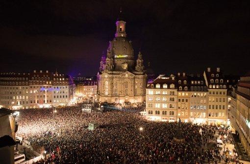 Dresden zeigt sich bunt