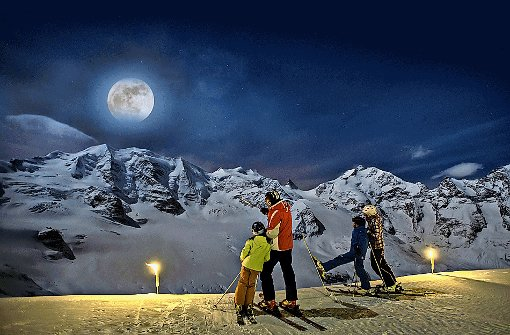 Oberengadin: Mondsüchtig