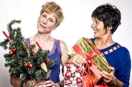 Kornwestheim: Weihnachten ist wunderbar - finden Elisabeth Kabatek und Susanne Schempp