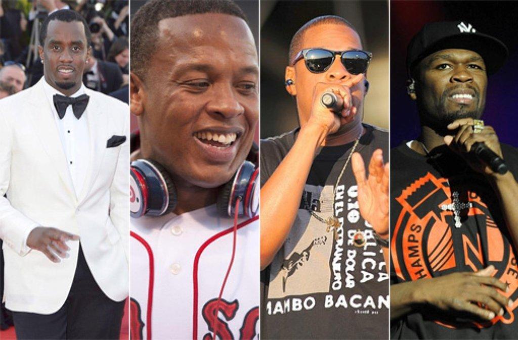 Die Reichsten Rapper Deutschlands