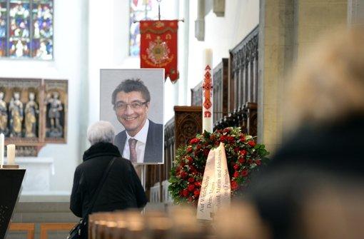 Trauerfeier von Schockenhoff