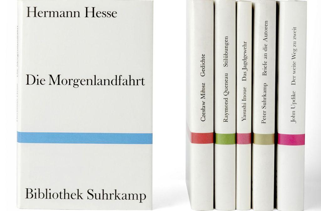 Der Suhrkamp-Bücher-Look: Willy Fleckhaus: Welche Farbe hat die ...
