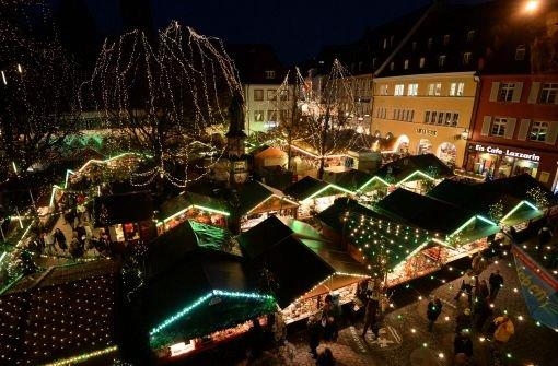 Weihnachtsmärkte öffnen ihre Tore