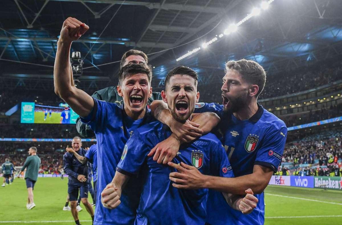 """Pressestimmen zum EM Finale """"Wir sind auf dem Dach Europas ..."""