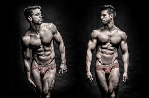 Männerkörper im Fokus