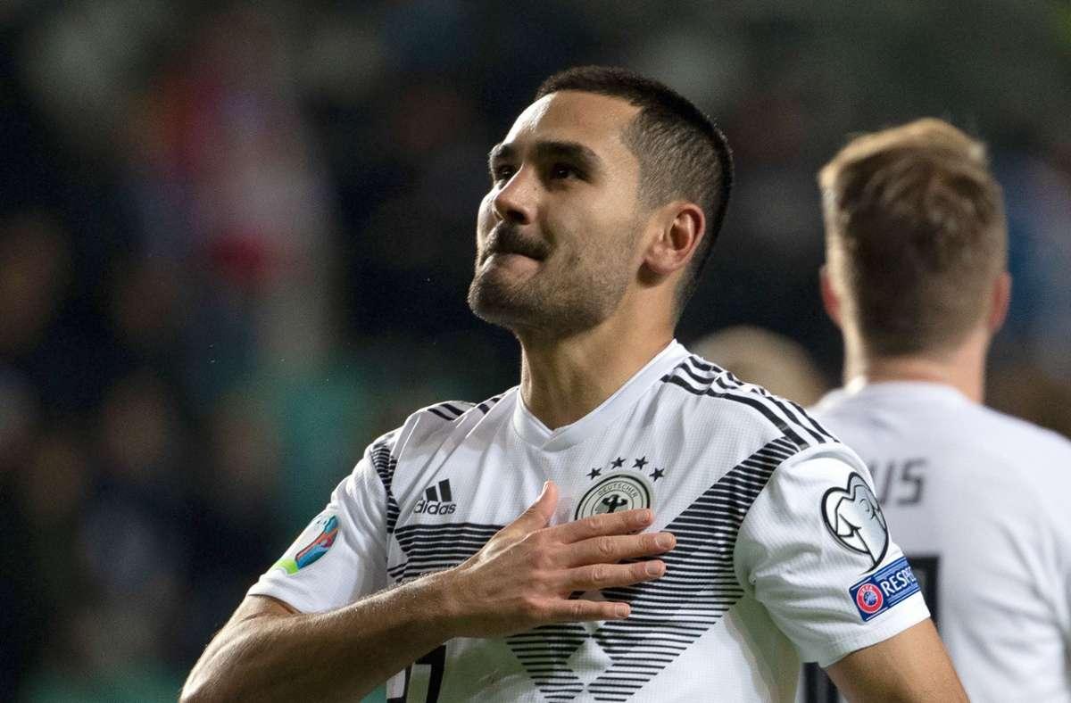 Spieler der deutschen Nationalmannschaft: Ilkay Gündogan positiv auf Covid-19 getestet