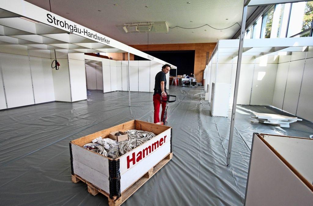 Baumarkt Ditzingen siebte messe in ditzingen leistungsschau wird so groß wie nie zuvor