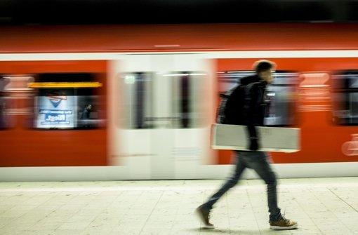 S-Bahn hält nicht
