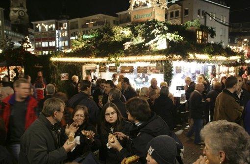 Weihnachtsmarkt wieder werbefrei
