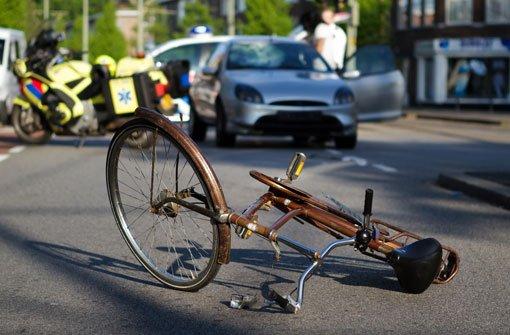 Radfahrer tödlich verunglückt