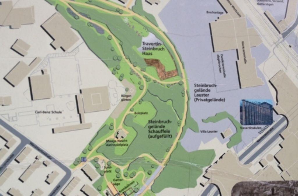Travertinpark in Bad Cannstatt: Grüne wollen Lauster-Areal ...