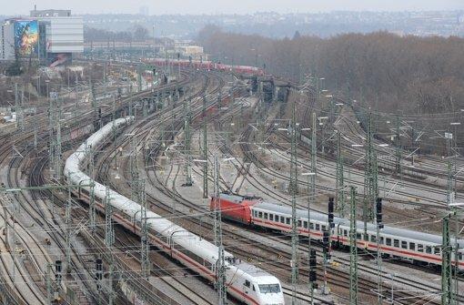 Sechs Mängel-Stellen im Gleisnetz