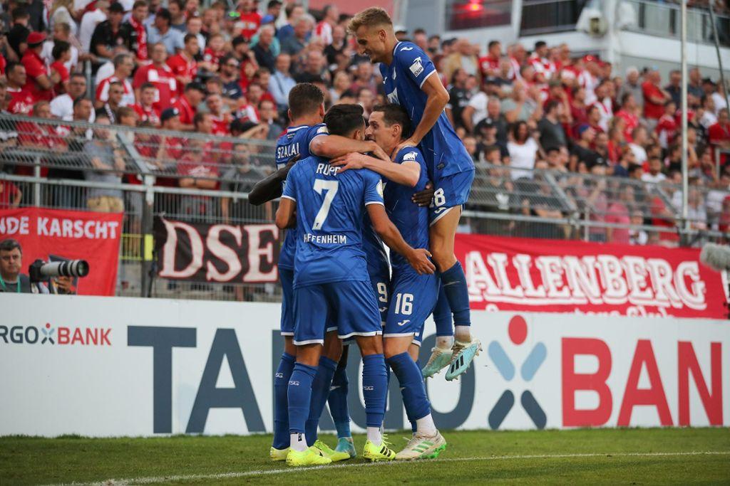 DFB Pokal: Hoffenheim nach Elfmeterschießen in Runde zwei