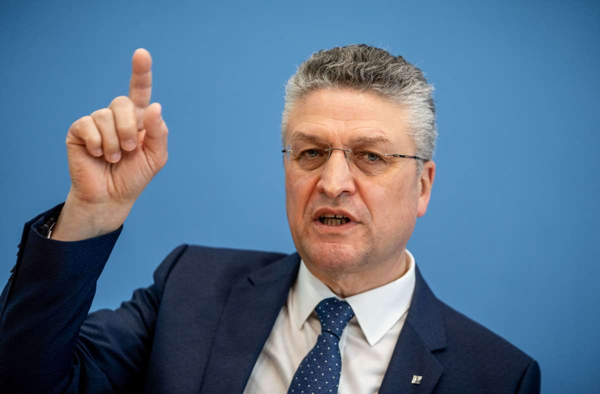 Präsident des Robert Koch-Instituts: RKI-Chef Lothar Wieler: Können Corona  nicht ausrotten - Wissen - Stuttgarter Zeitung