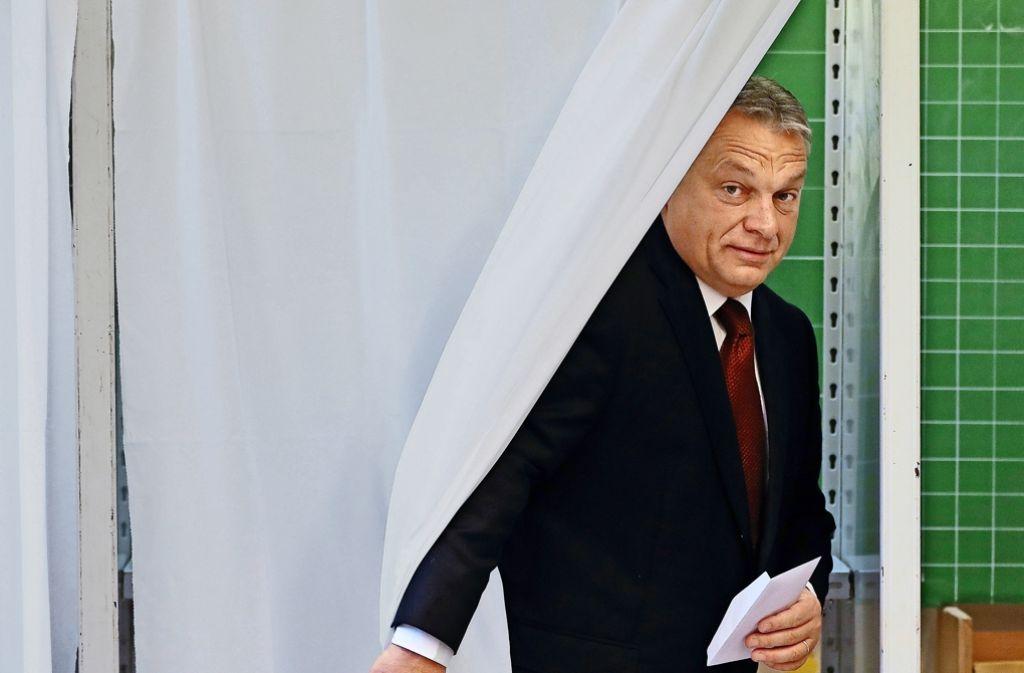 referendum in ungarn d mpfer auf internationalem parkett. Black Bedroom Furniture Sets. Home Design Ideas