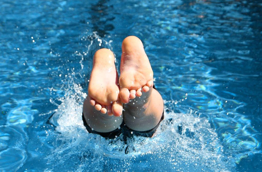 harte untere schwimmbad