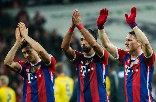 Bayern stürmen davon - Verfolger abgehängt