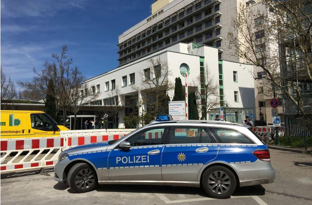 Klinikum Ludwigsburg - Rangelei im Krankenhaus: Arzt und Angehöriger geraten aneinander - Stuttgarter Zeitung
