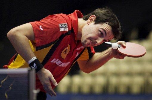 Der Tischtennisprofi Timo Boll gilt als Gentleman des Sports Foto: dapd
