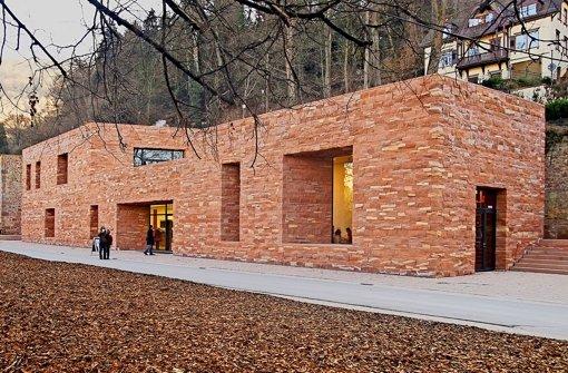 Besucherzentrum schon sanierungsbedürftig