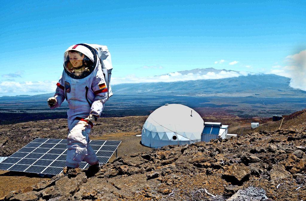 Mars habitat auf hawaii diese forscherin lebte ein jahr for Habitat stuttgart