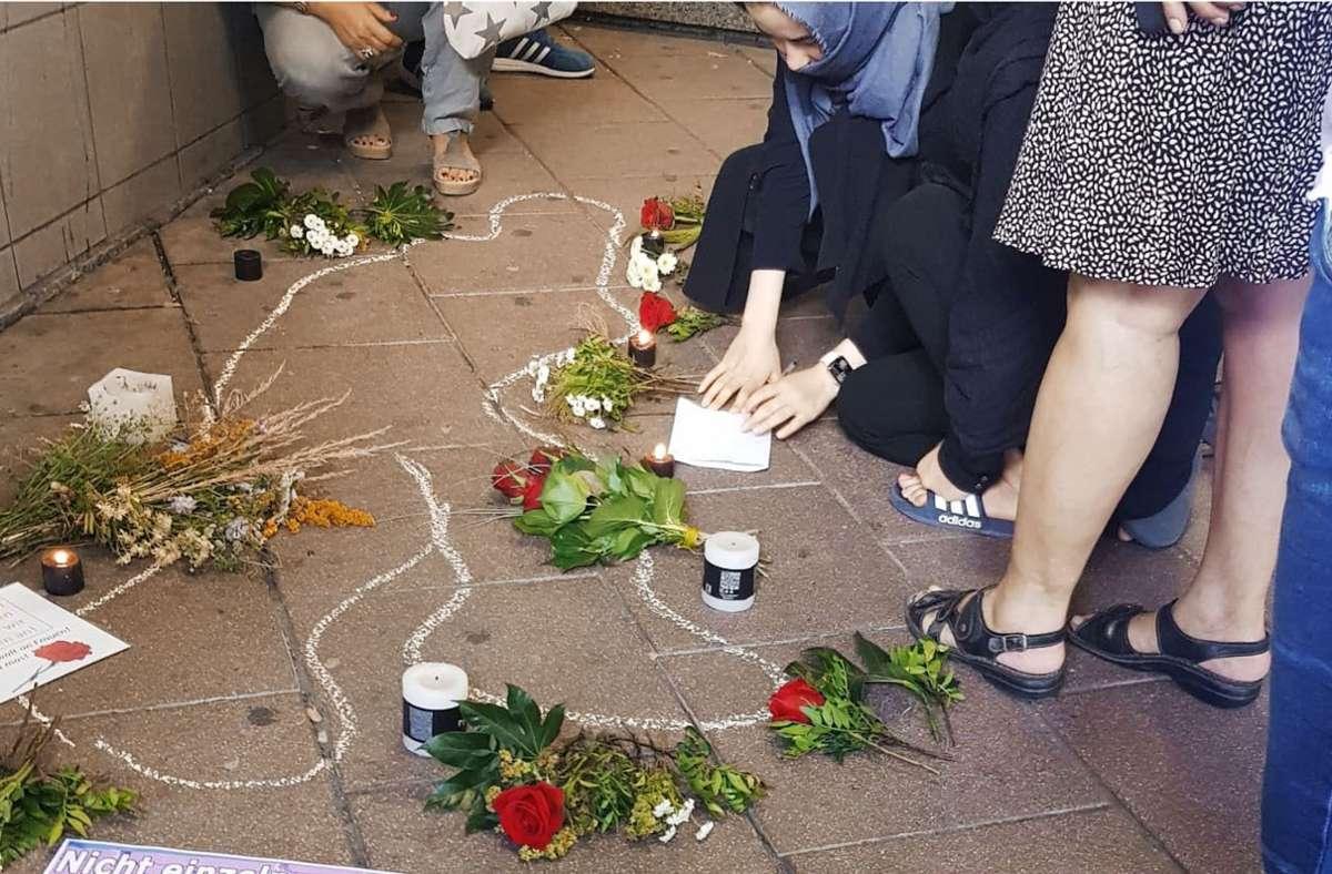 Tod einer Frau, die frei leben wollte