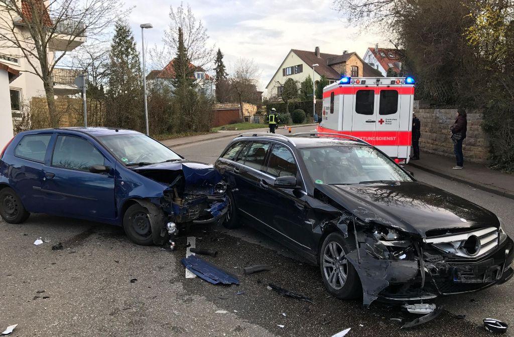 Verkehrsunfall Stuttgart