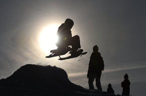 Spontan Ski fahren