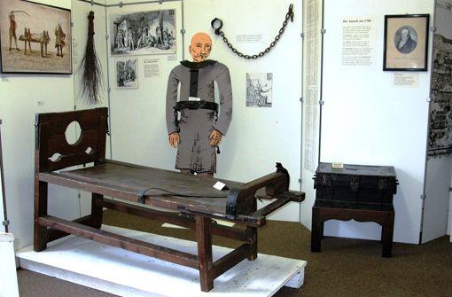 Die Geschichte der Freiheitsstrafen im Strafvollzugsmuseum Schorndorf