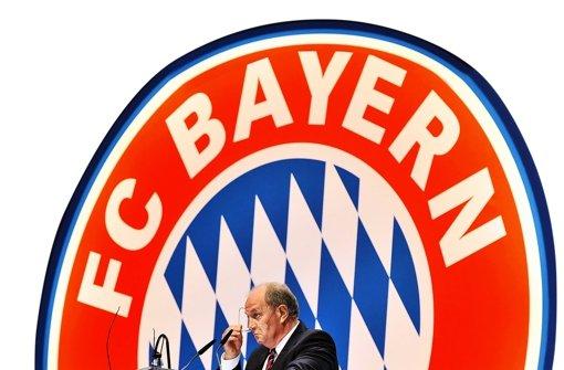 Der mächtige Mann des FC Bayern: Uli Hoeneß Foto: dpa