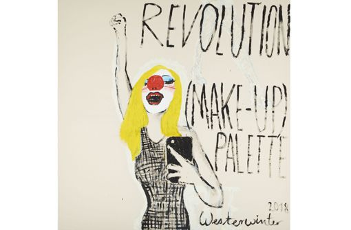 Simone Westerwinter: Revolution (Make-up) Palette in Bietigheim