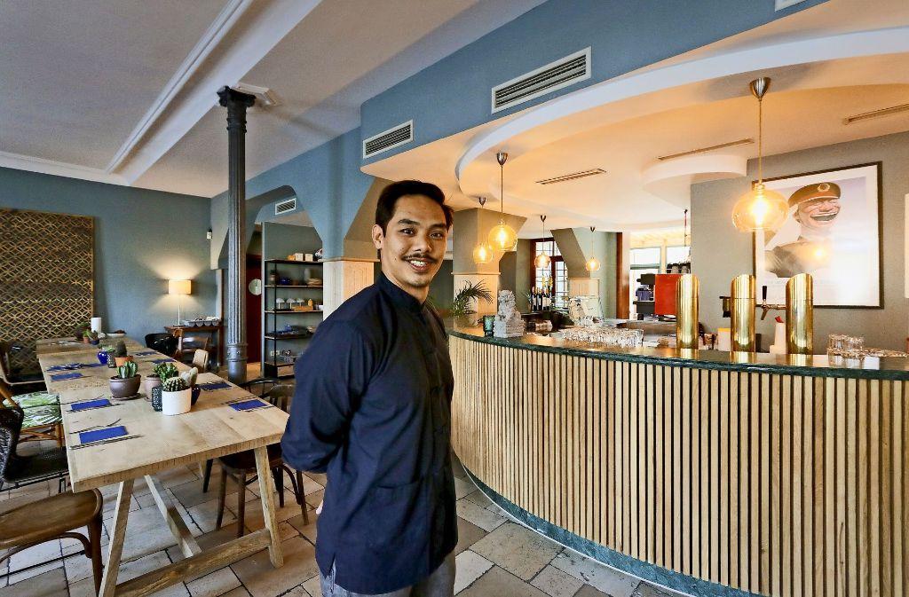 neues restaurant in ludwigsburg bambus statt barock landkreis ludwigsburg stuttgarter zeitung. Black Bedroom Furniture Sets. Home Design Ideas