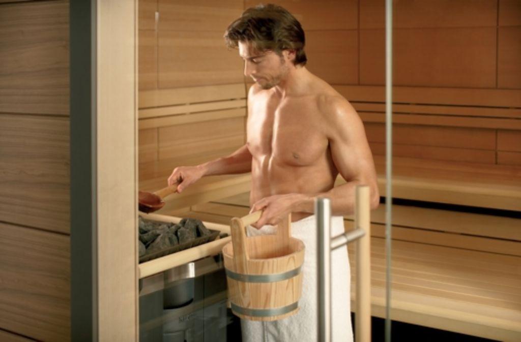 Saunieren nackt Die Sauna