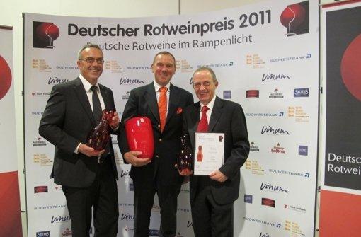 Region räumt beim Rotweinpreis   ab