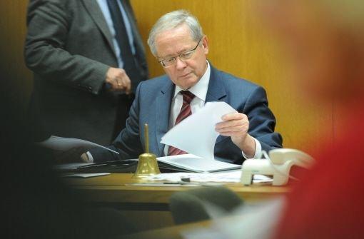 Der bisherige Vorsitzende des EnBW-Untersuchungsausschusses, Ulrich Müller (Foto), zieht sich aus dem Gremium zurück. Ebenso Volker Schebesta, der bisherige CDU-Obmann im Ausschuss. Foto: dpa