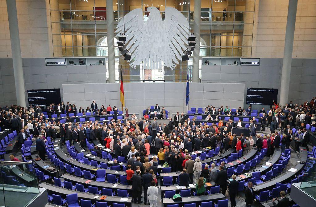 Bundestag Karriere