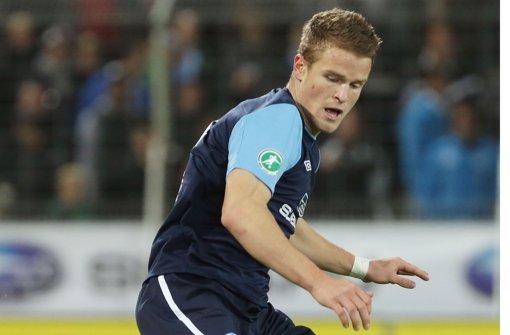 Tobias Rühle brennt gegen Münster auf seinen Einsatz. Foto: Baumann