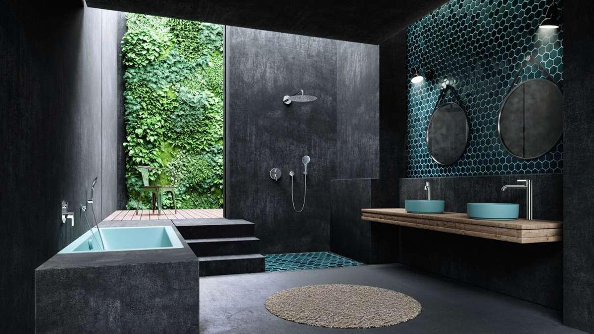 Trends im Badezimmer Edel wohnen im Designerbad   Panorama ...