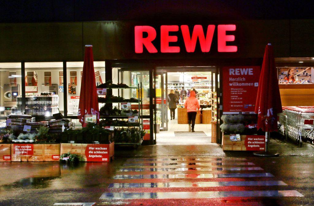 Kreis Esslingen Randale In Rewe Supermarkt Landkreis Esslingen