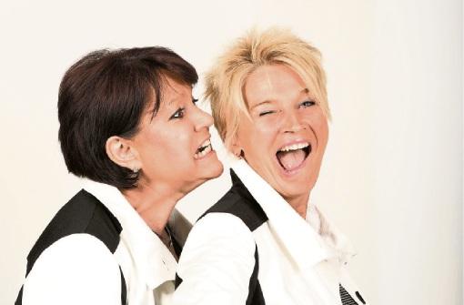 Das schwäbische Kabarett-Duo Dui do on de Sell ist im Ländle unterwegs