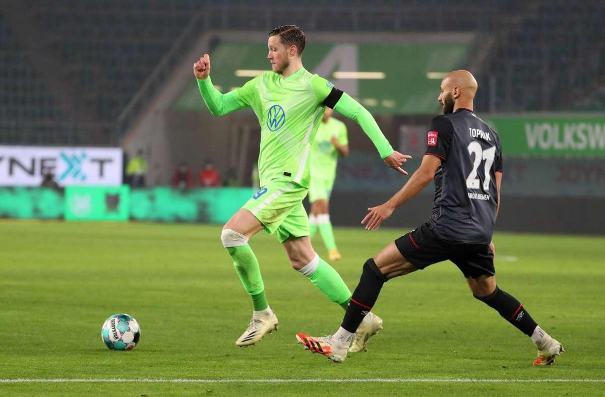 Tor-Festival-in-der-Fu-ball-Bundesliga-VfL-Wolfsburg-siegt-dank-Weghorst-gegen-Werder-Bremen