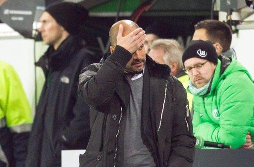 Bayern geht in Wolfsburg 1:4 unter