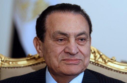 Kämpft offenbar mit dem Tod: Husni Mubarak Foto: EPA FILE